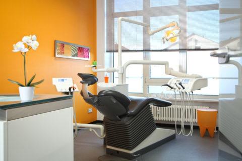 Behandlungsraum Prophylaxezentrum