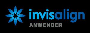 Unsichtbare Zahnschiene Invisalign Logo
